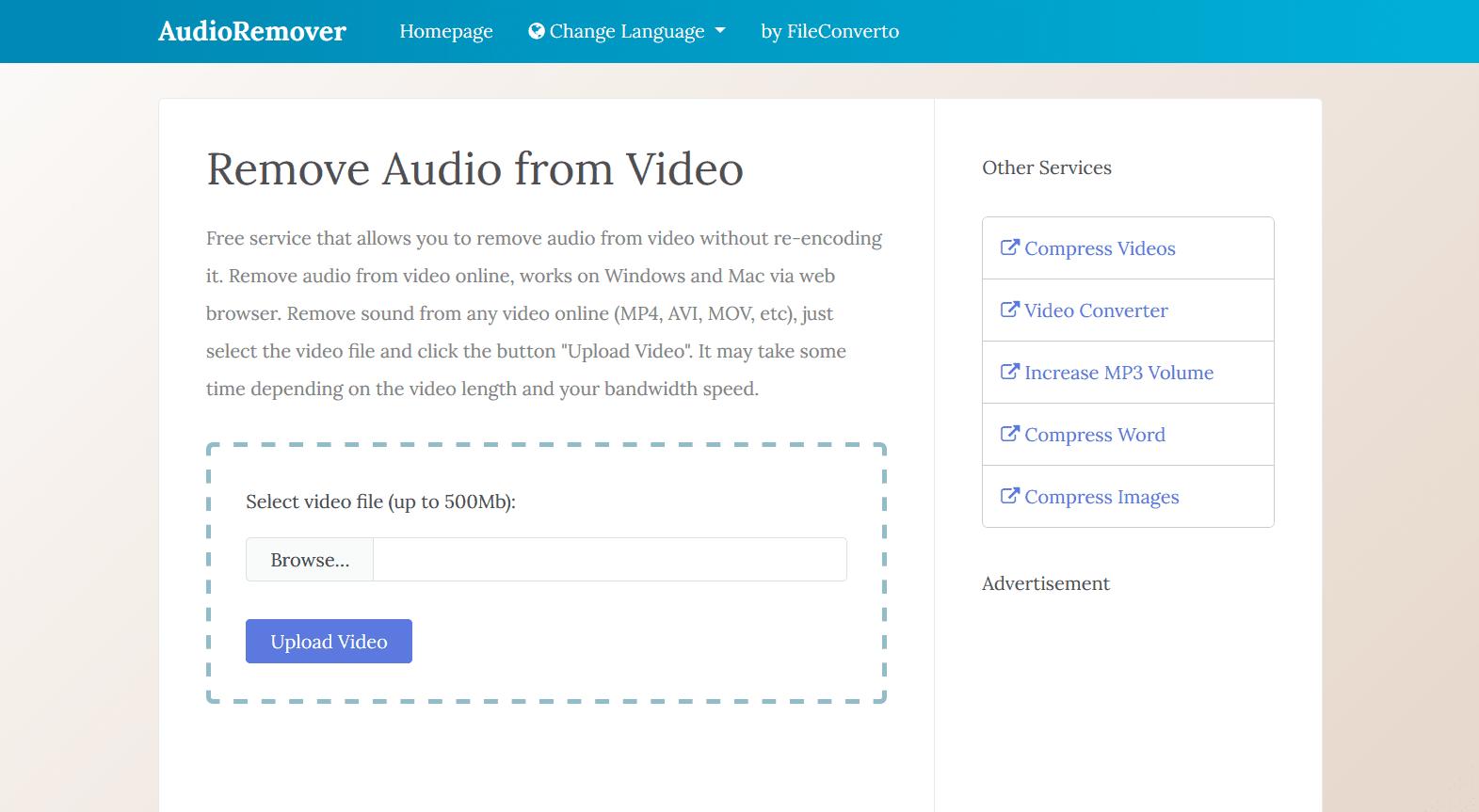 www.audioremover.com
